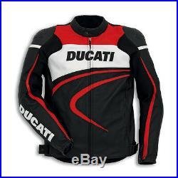 DUCATI DAINESE sport c2 Veste / BLOUSON EN CUIR BLOUSON MOTO VESTE EN CUIR NEUF