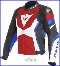 Dainese AVRO 4 Hommes Blouson moto veste en cuir Course de la SPORT été
