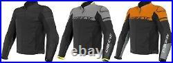 Dainese Agile Hommes Blouson Moto Veste en Cuir Été Sport Court Athlétique