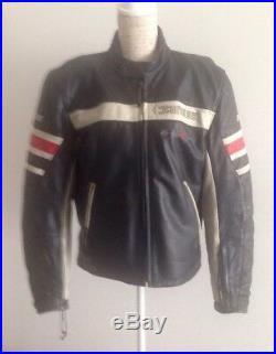Dainese legendary blouson veste homme cuir moto T50 doub + protect amovibles