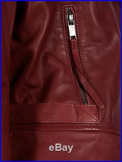 Diesel Veste Blouson Femme L-premise-a Jacket Neuf 100% Cuir Taille L