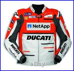 Ducati Alpinestars Replica Moto Gp Équipe 18 Veste en Cuir Blouson de Limitée