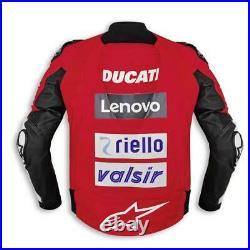 Ducati Replica Moto Gp 20 Veste en Cuir Neuf