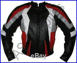 EXTERMINATION Veste de Moto en Cuir Blouson Motard Toutes tailles