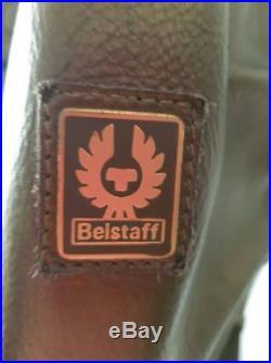 Femme Belstaff Cuir Blouson Moto, Panther Veste, Neuf avec Étiquette Gr. 42