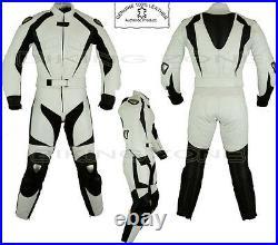 Femmes Blanc Ranger Femmes Armure Moto / Veste Cuir Moto / Suit