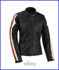 Femmes Bmw Vêtement En Cuir Motorbike Dames Bmw Biker Cuir Veste Moto Cuir Veste