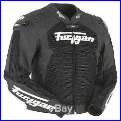 Furygan Vitesse Treillis Noir Ventilé Été Cool Cuir Moto Veste de Sport