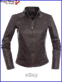 Ebay blouson en cuir femme