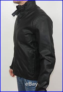 G-Star FORC ACROSS BIKER JKT Blouson motard Veste en cuir 82562D. 5335.990 Noir
