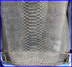 Garage Veste Blouson En Cuir Taille S Valeur 1450 Made In Italy 799