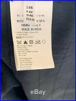 HIGH USE Blouson Veste Perfecto Cuir -sans Manches Taille 42
