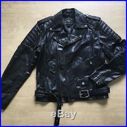 Harley Davidson Blouson/Veste en Cuir Noir Taille M Perfecto #1 Number One