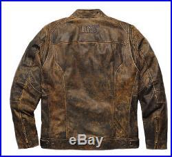 Harley-Davidson H-D Veste en cuir MIRAMAR Blouson moto 97128-16VM/ Gr 022L. 2XL