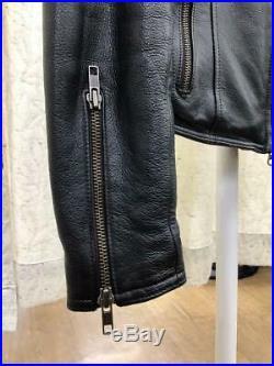 Harley Davidson Veste Cuir Extérieur Blouson Femme M Avec Épaule Sac T-Shirt