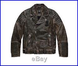 Harley-Davidson blouson moto FR Distressed veste en cuir 97174-17vm/002L gr. XL