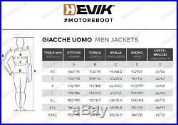 Hevik HJL301MBR Veste en Cuir Bovine Moto Kawasaki 250 Z Sl ABS BR250 2015-2016