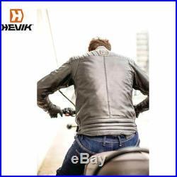 Hevik HJL301MB Veste en Cuir Bovine Moto Harley 1584 FLSTF Fat Boy 2012-2012