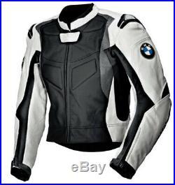Homme Motor Veste En Cuir Moto Chaqueta De Cuero Motorrad Leder Jacke