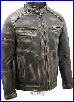 Veste en cuir Brando Highway buffle Nappa Noir taille 4xl