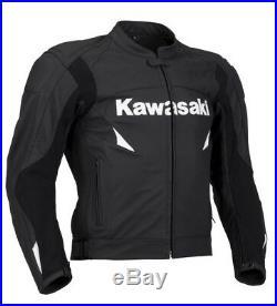 Hommes Courses Moto Cuir Veste Biker Cuir Veste Vêtement En Cuir Motorbike Eu-54