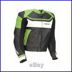 Hommes Moto Vestes Cuir Motard Course Armure Protecteur MotoGp Des Sports Fermez