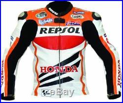 Hommes Vêtement En Cuir Motorbike Biker Cuir Veste Moto Cuir Veste 48,54