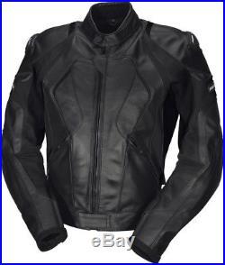 IXS Canopus Hommes Blouson moto veste en cuir sport course THERMALE amovible