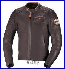 IXS ELIOTT Veste en cuir pour hommes cuir nappa Blouson Moto Sport Touring