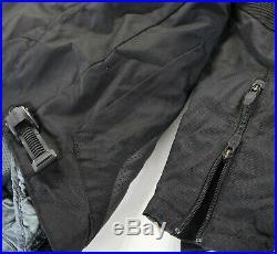 Icon Sanctuary Moto Veste L Noir Cuir Nylon Spandex Polyester Doublure