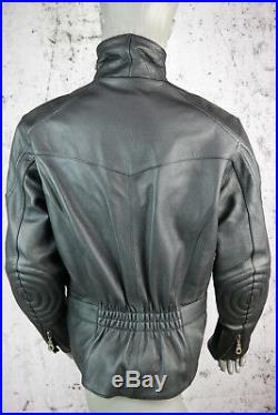 Ixs Blouson Moto, Leder- Veste, Cuir Véritable, Noir, Taille Femmes L, Neuf