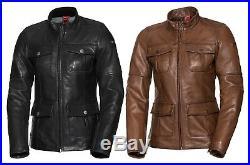Ixs Classic Ld Josy Femmes Moto Veste en Cuir Classique Longue Long Style Ancien