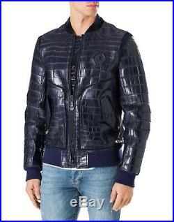 Jacket Veste Blouson Bomber Philipp Plein Crocodile effect DHL Rare