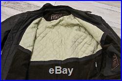 Joli blouson veste brun taupe col en cuir MARLBORO CLASSICS taille 44 fr eur 52