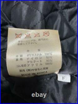 Kansai Yamamoto Homme Tout Cuir Veste Blouson de Vache Taille Unique Japon