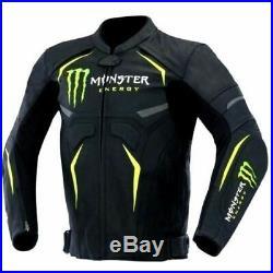 Kawasaki Monster Moto Costume En Cuir Moto Veste En Cuir Motard Courses Pantalon