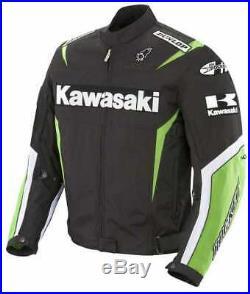Kawasaki Moto Costume En Cuir Moto Veste En Cuir Motard Courses Pantalon