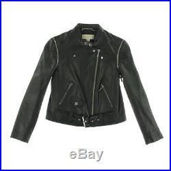 1624d3f6502f LDN MICHAEL KORS veste blouson en cuir perfecto noir Taille L