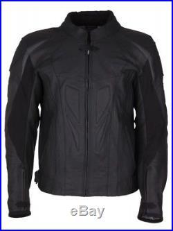 MODEKA Veste en cuir INDIANAPOLIS gr. 66 7XL noir blouson moto grande taille