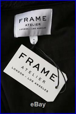 Monture Atelier Froissé Noir Doux Verni Brillant Cuir Veste Blouson Manteau