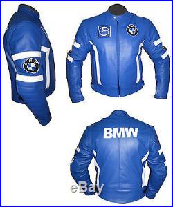 Moto BMW Sport Veste de protection en cuir Blouson