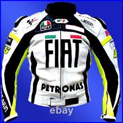 Moto Costume FIAT En Cuir Moto Veste En Cuir Cours Motards Pantalon Veste Bikers
