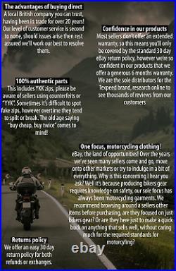 Moto Cuir Veste Touring Avec Véritable Ce Motard Armure Thermique