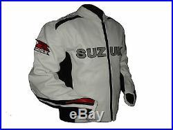 Moto Sport SUZUKI Moto Veste de protection en cuir de course