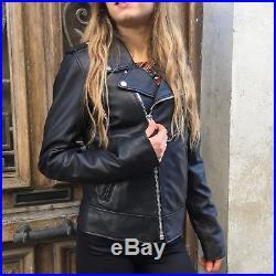 NEUF Blouson/Veste/Manteau SCHOTT Femme PERFECTO LCW 1601D Envoi Rapide Soigné