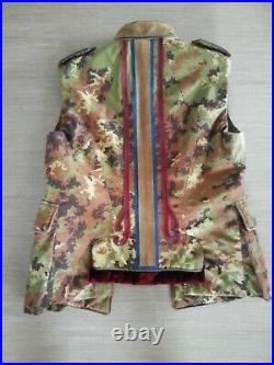 NEUF. Rare. Dsquared2 Blouson veste crop 40I IT. 36/38 EU. 780 toile et cuir