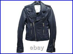 Neuf Veste Balenciaga Perfecto 256302 Xs 34 En Cuir Blouson Leather Jacket 1795