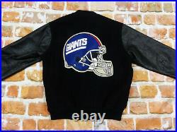 New York Giants NFL USA Vintage Blouson Baseball CHALK LINE TailleM Pointe Top