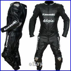 Ninja Hommes Moto Costume En Cuir Moto Veste En Cuir Motards Courses Pantalon