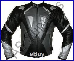 OBLIVION Veste de Moto en Cuir Blouson Motard Toutes tailles